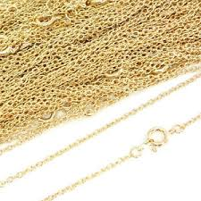 22ct Trace chain 45cm  (0.4 gauge) Gold