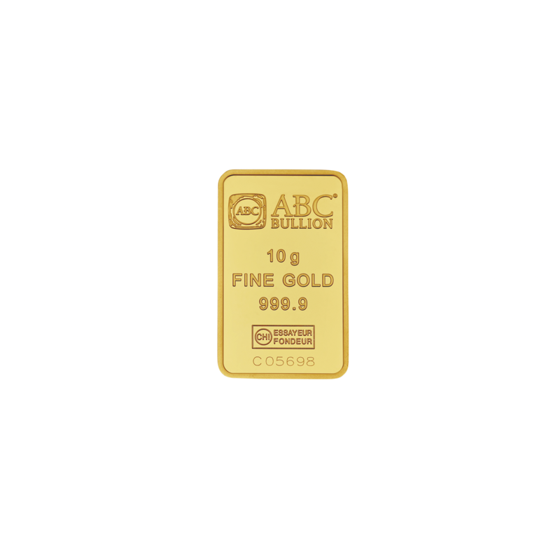 10g ABC Bullion Minted Tablet Gold
