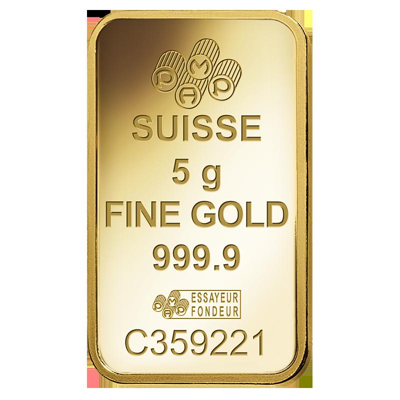 5g PAMP Minted Lakshmi 9999 Gold