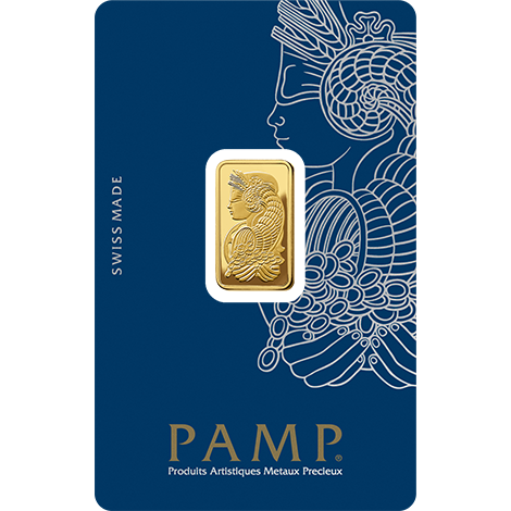 5g PAMP Minted Bar Gold