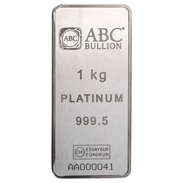 1kg ABC Platinum Minted Tablet Platinum
